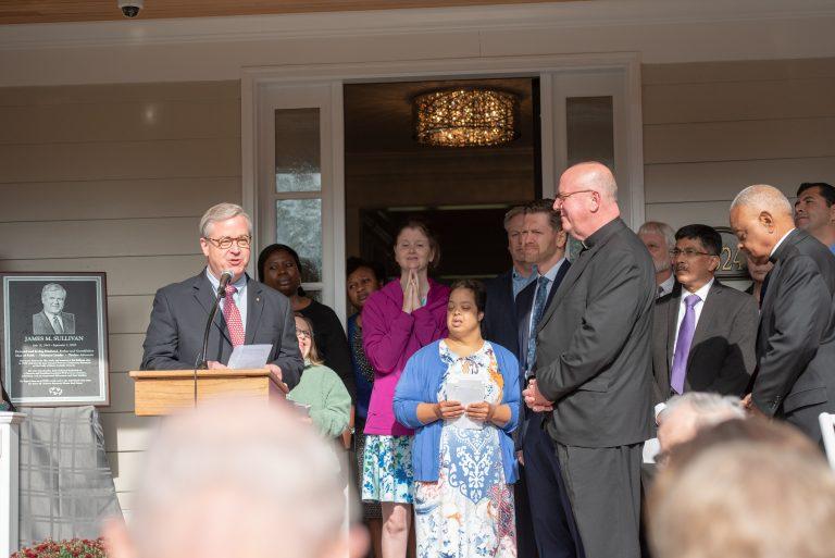 James M. Sullivan Memorial House Dedication & Blessing